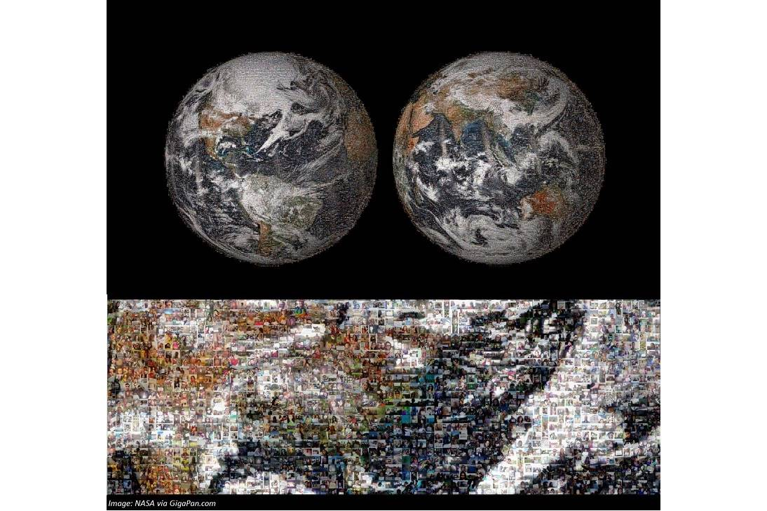 Earth Takes a Selfie