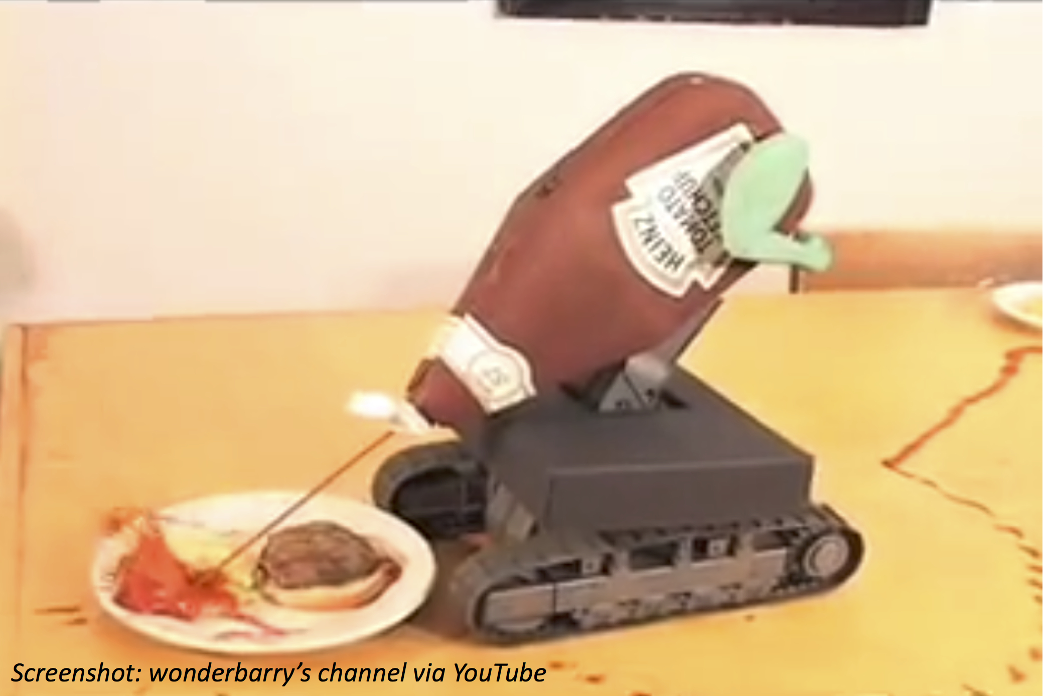 Squirt-Attack Robot