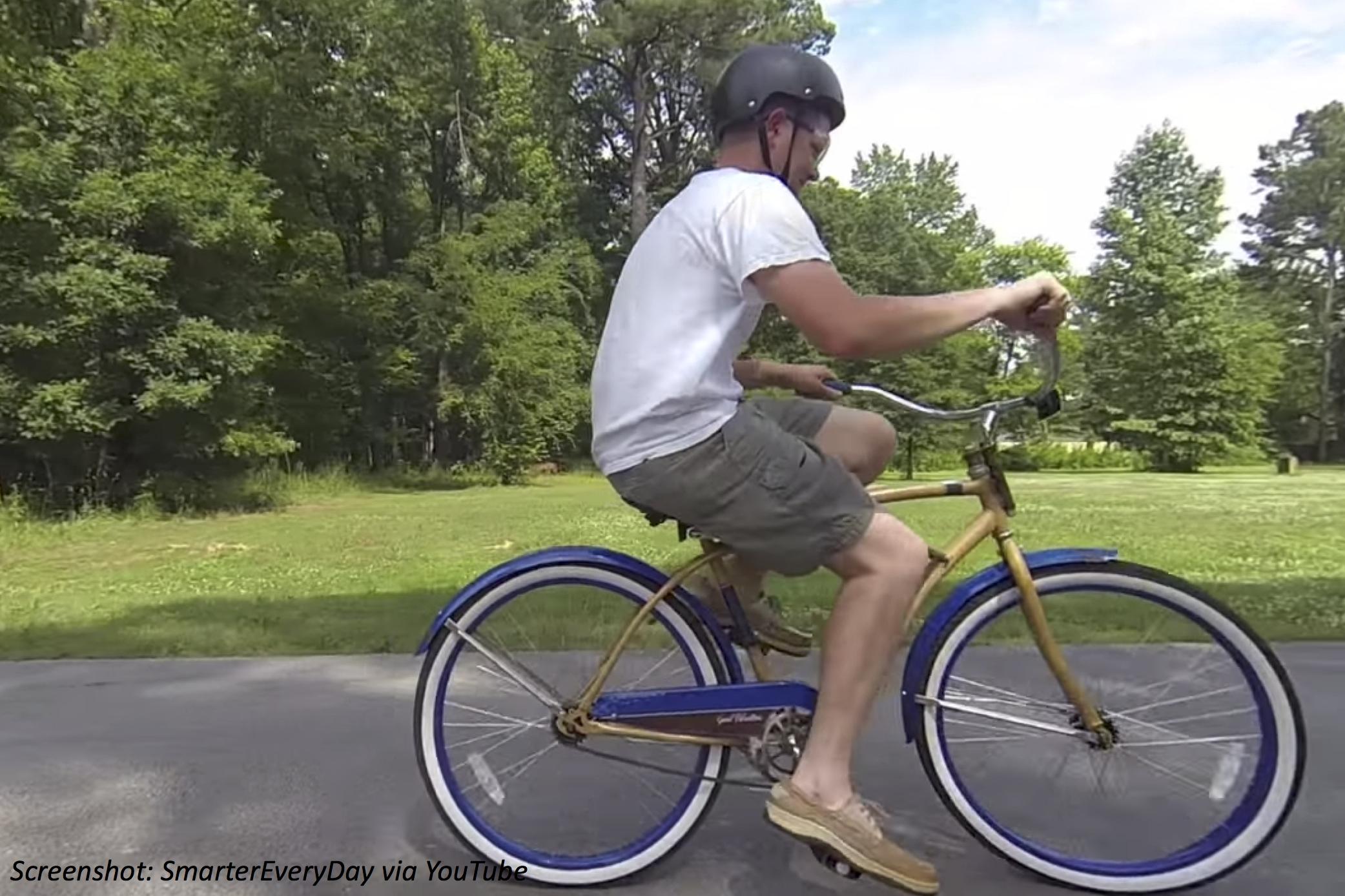 Backwards-Brain Bike