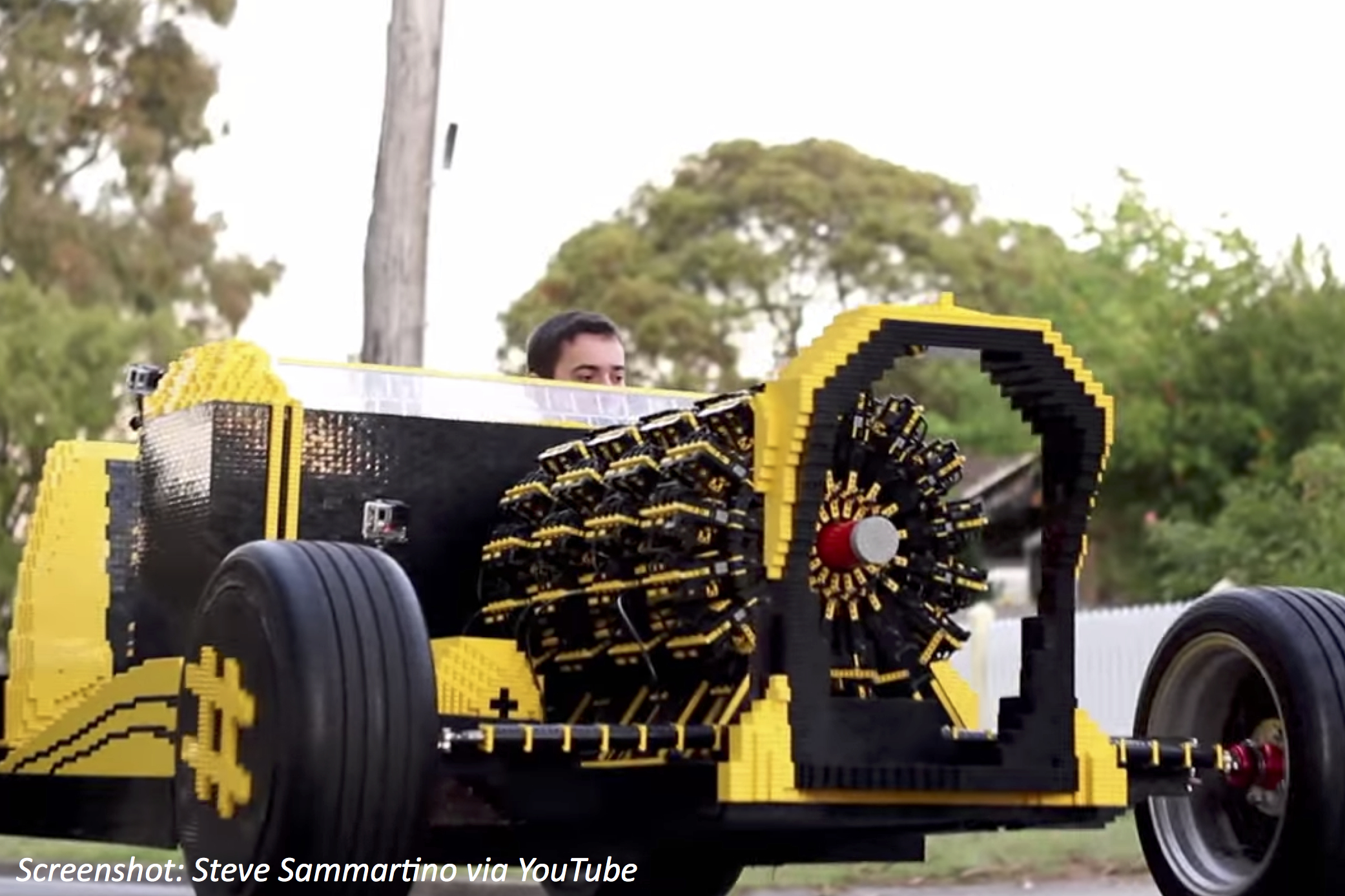 Drive Your Own Lego Car