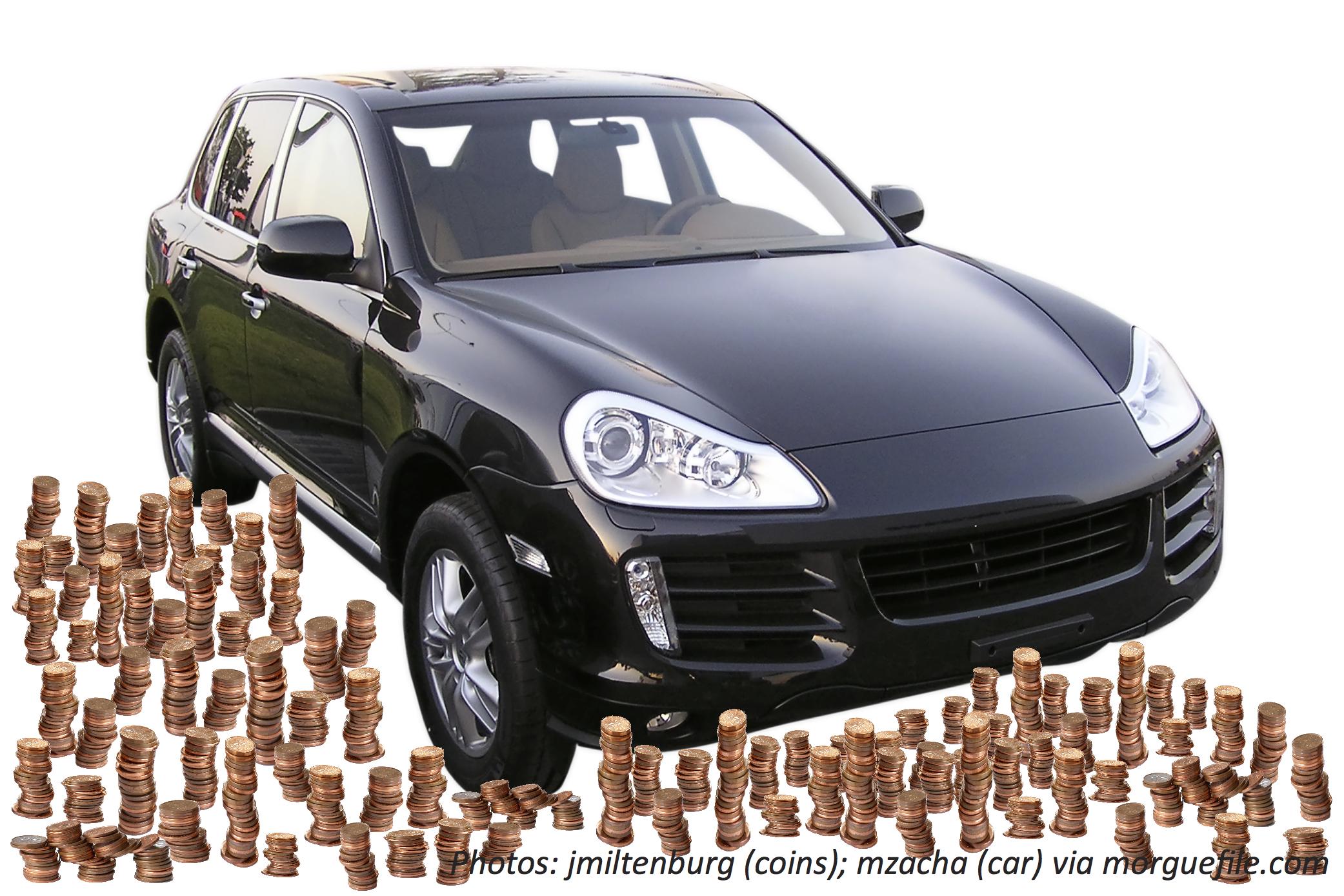 Car Full of Coins