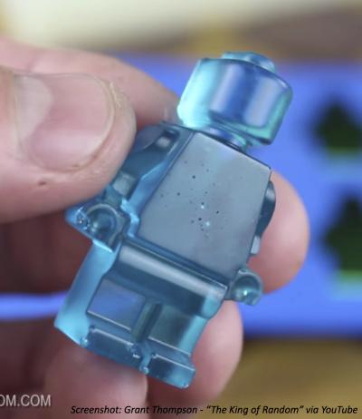 Gummy Lego minifigure
