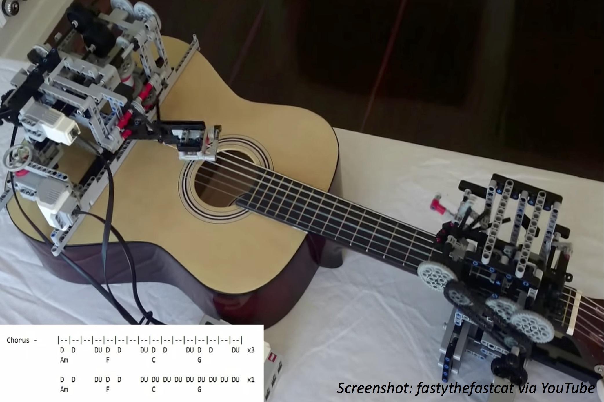 Rock Star Robot