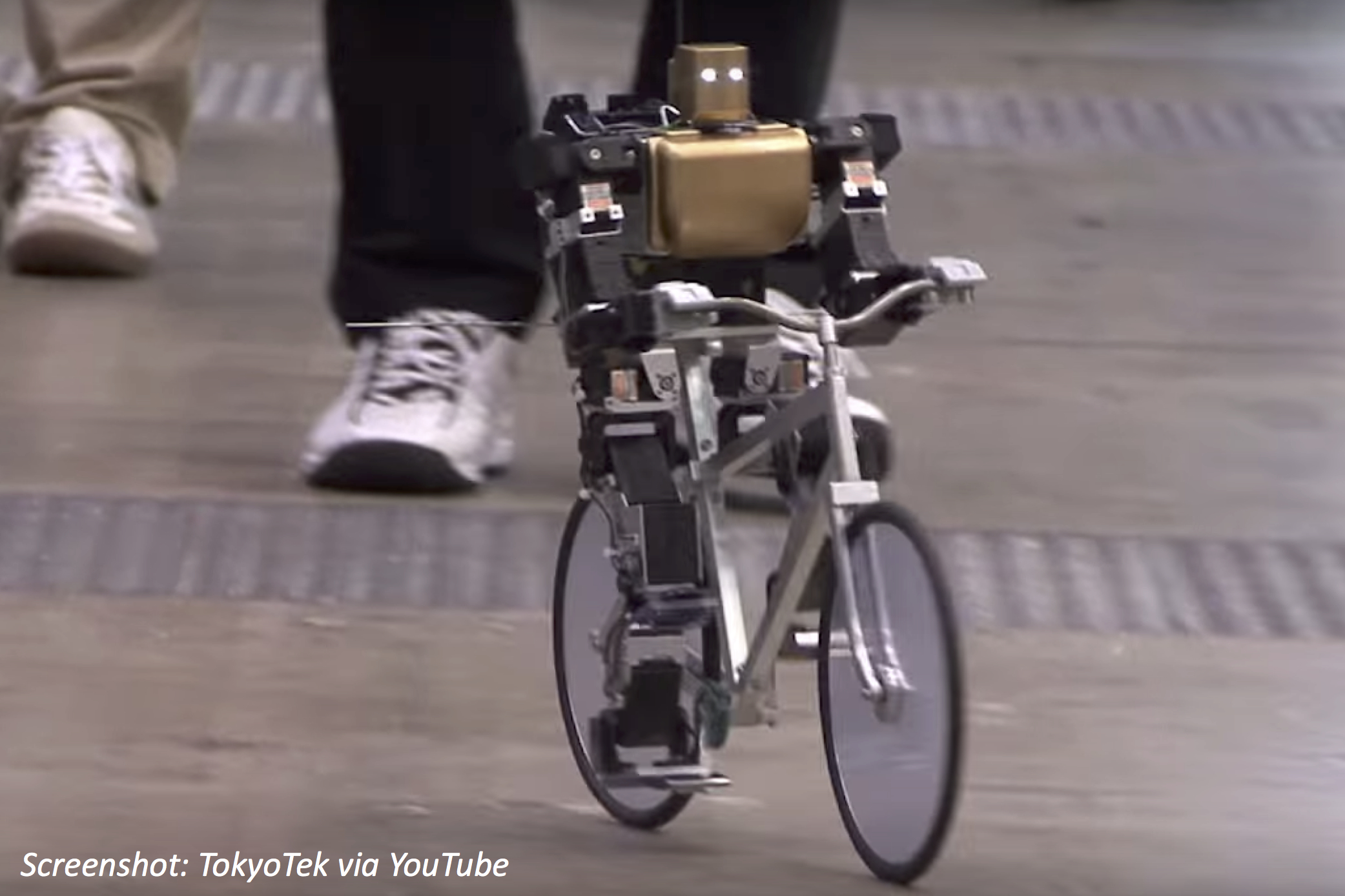 Can a Robot Ride a Bike?