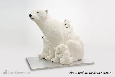 Lego polar bears