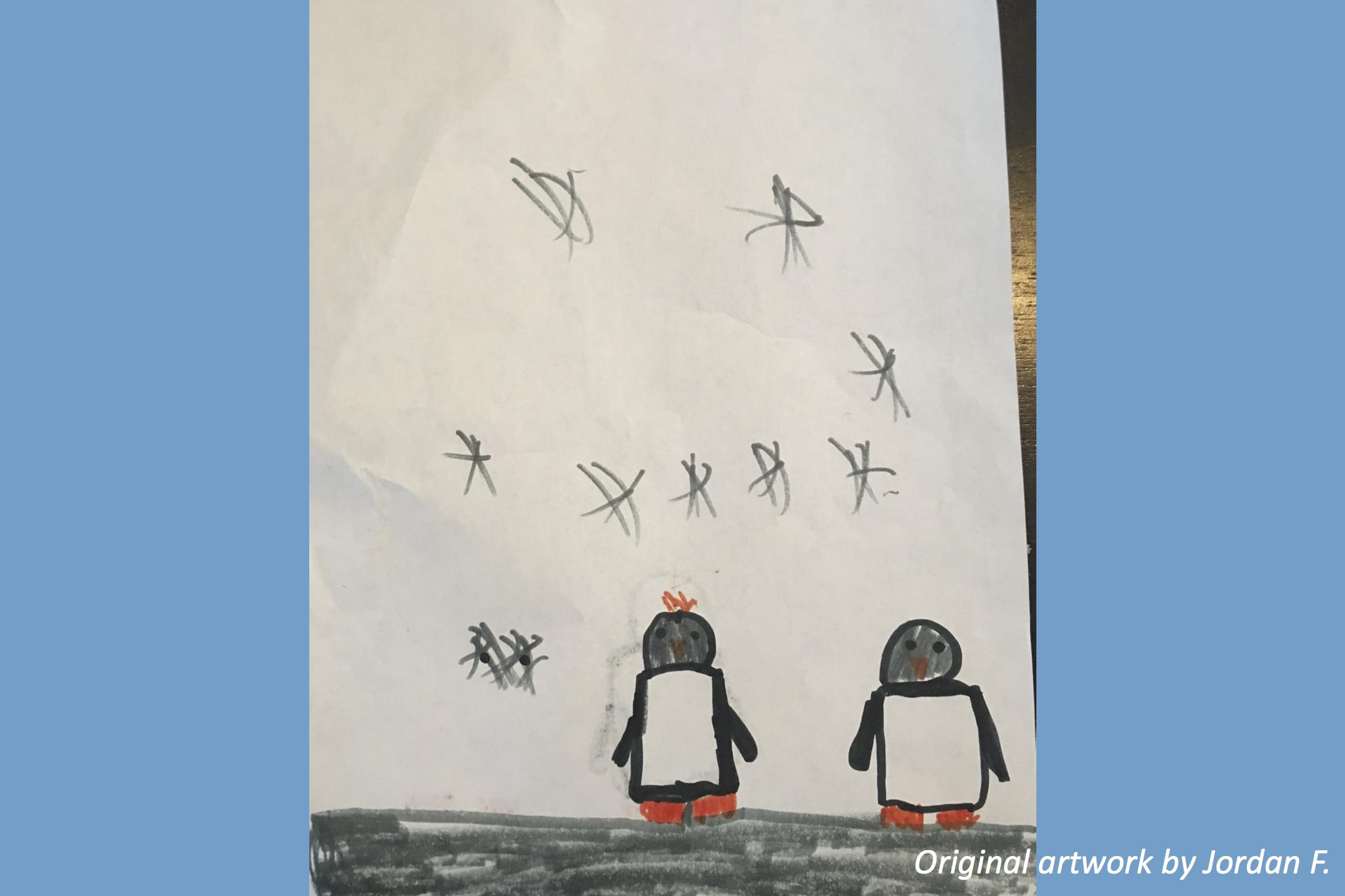 Perky Pack of Penguins