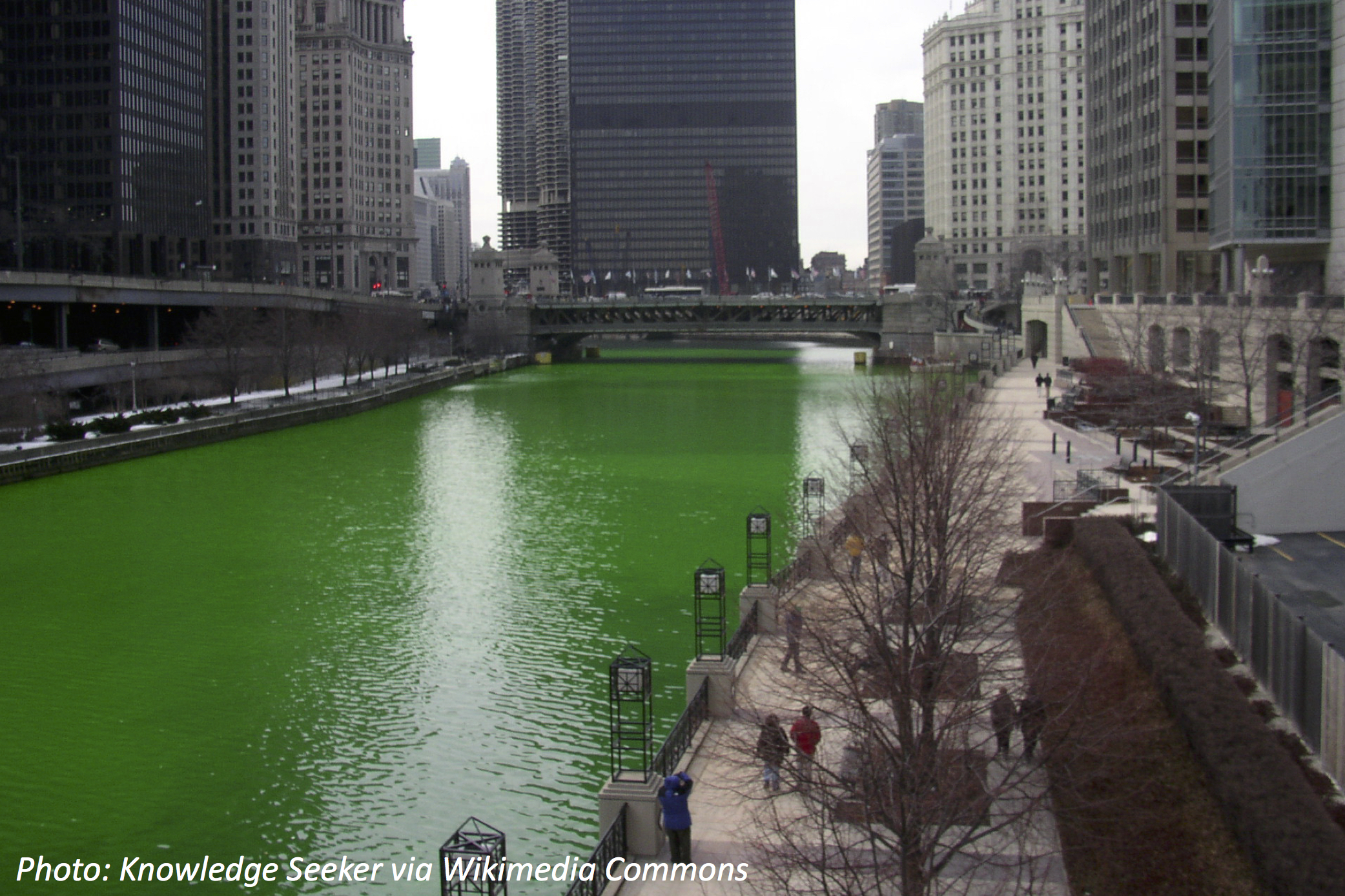 How to Make a River Green
