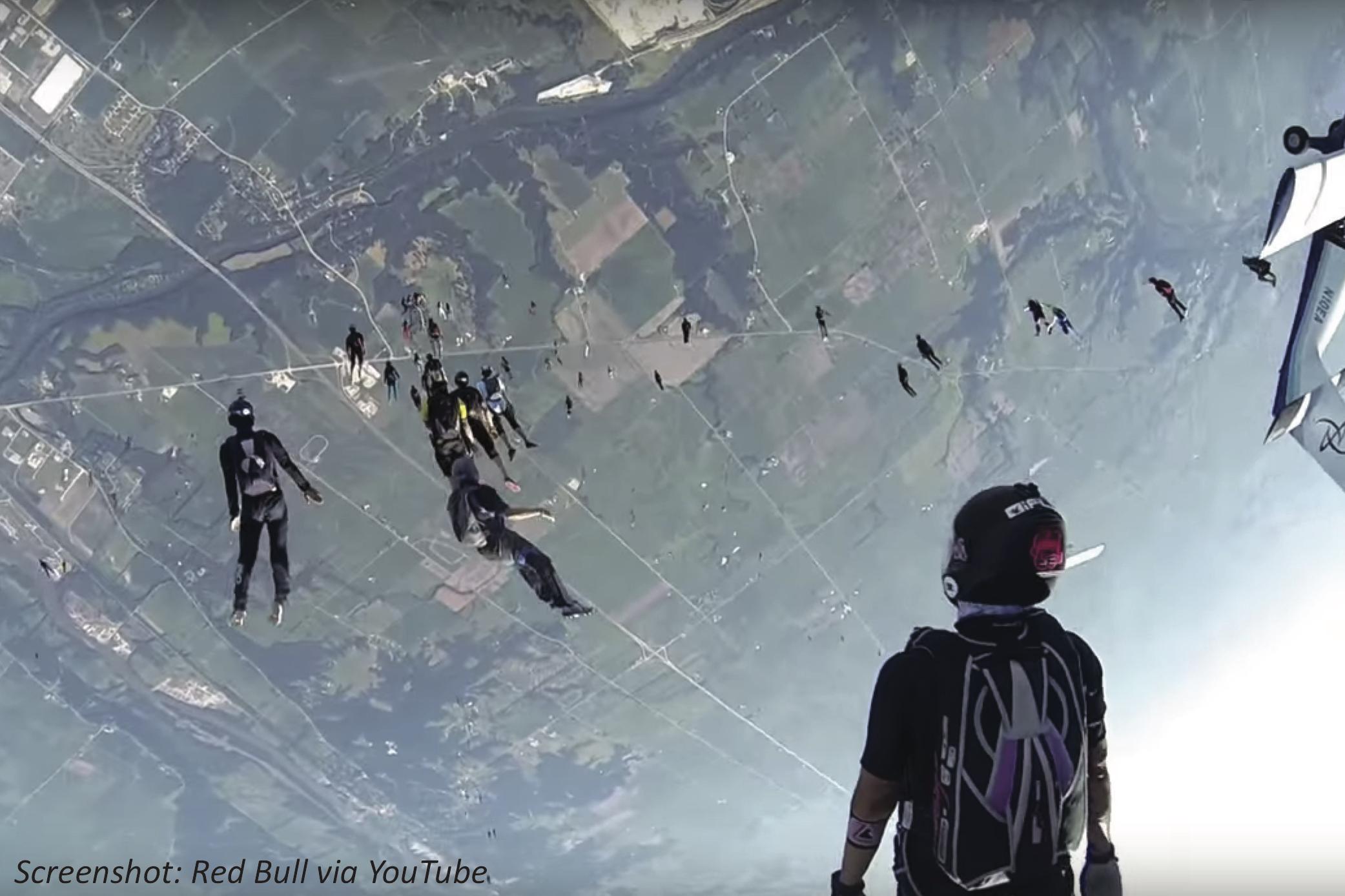 Shooting-Star Skydivers