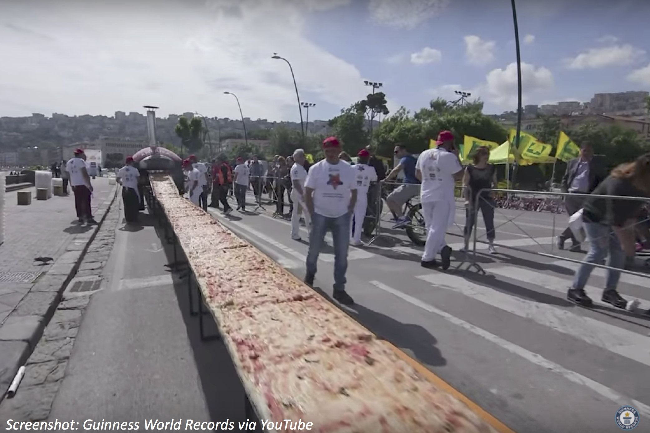 A Mile of Pizza