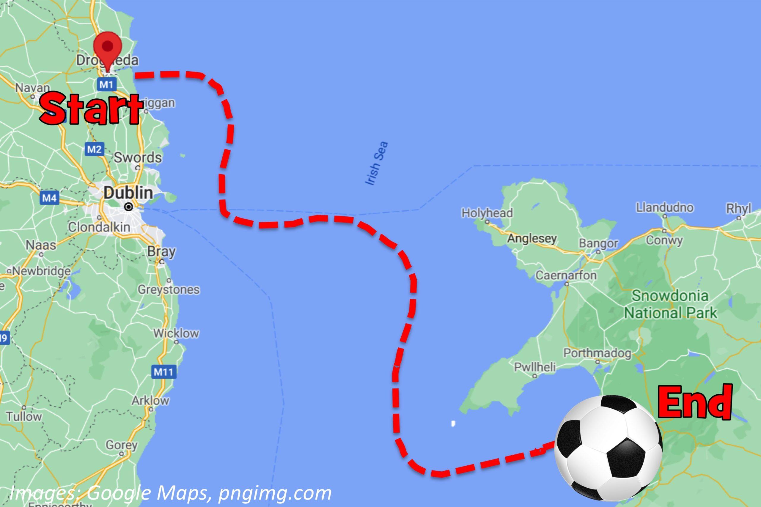 Can You Kick a Ball Across the Sea?
